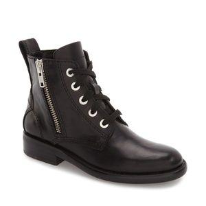 NEW Treasure & Bond Quincy Combat Boot, Black, 7.5